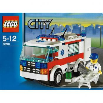 LEGO City  7890 - Ambulance