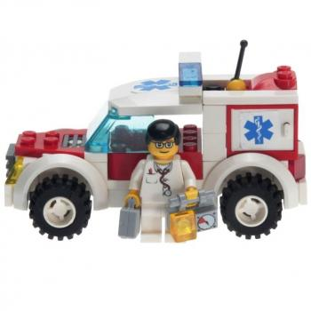 LEGO City  7902 - Doctors Car