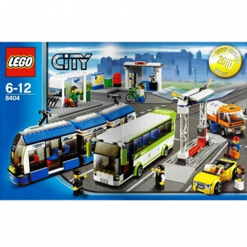 LEGO City  8404 - Public Transport Station