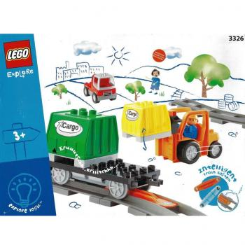 LEGO Duplo  3326 - Intelli-Train Cargo