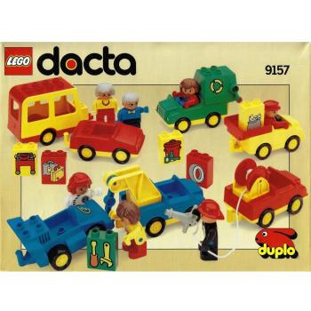 LEGO Duplo  9157 - Job Vehicles with Workers