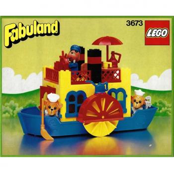 LEGO Fabuland 3673 - Steamboat