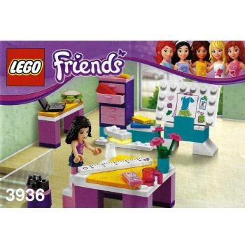 Lego Friends 3936 Emmas Fashion Design Studio Decotoys