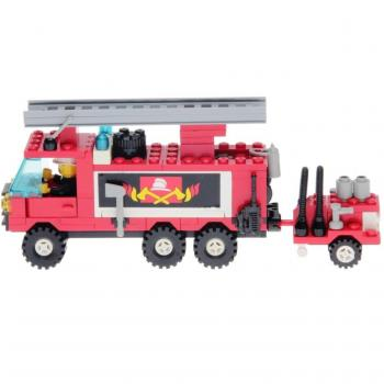 LEGO Legoland 6480 - Hook and Ladder Truck