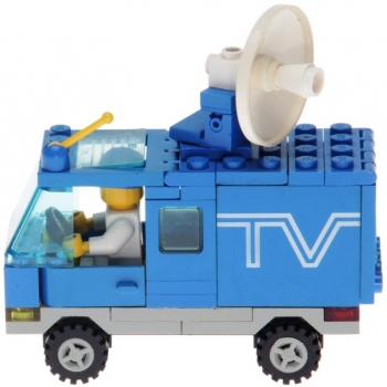 LEGO Legoland 6661 - Mobile TV Studio