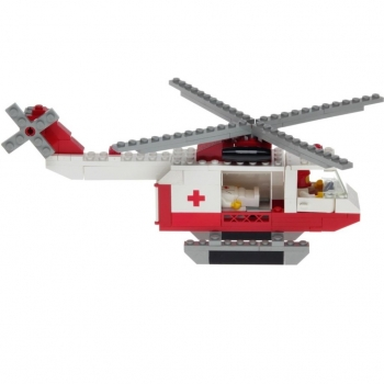 LEGO Legoland 6691 - Red Cross Helicopter