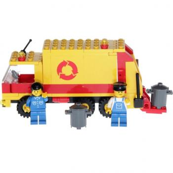 LEGO Legoland 6693 - Refuse Collection Truck