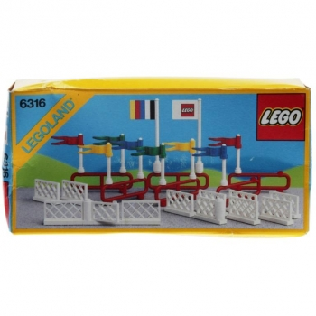 Lego System 6316 - Flags and Fences
