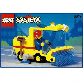 Lego System 6649 - Street Sweeper