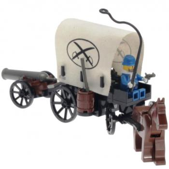 Lego System 6716 - Covered Wagon