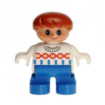 LEGO Duplo - Figure Child Boy 6453pb018