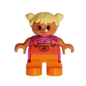 LEGO Duplo - Figure Child Girl 6453pb020
