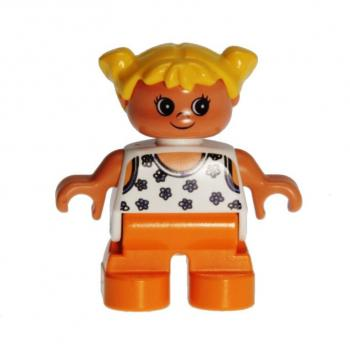 LEGO Duplo - Figure Child Girl 6453pb034
