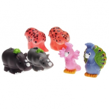 Fisher-Price Little People B1506 - Peacocks, Leopards & Rhinos