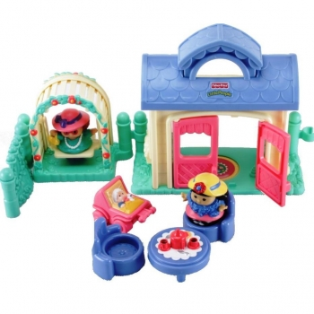 Fisher-Price Little People C4446 - Spielfreunde Set