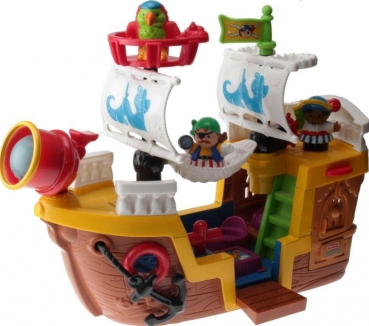 Fisher-Price Little People J4419 - Piratenschiff