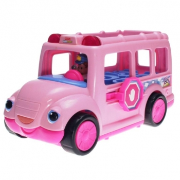 Fisher-Price Little People R3915 - Schulbus pink