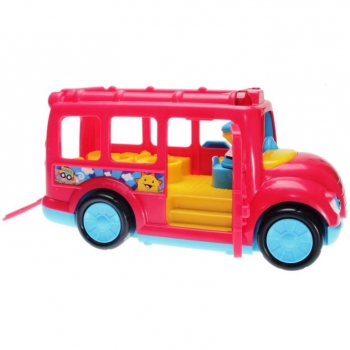 Fisher-Price Little People R3915 - Stop \'n Surprise School Bus red ...