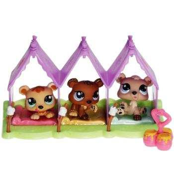 Littlest Pet Shop - Petriplets 94459 - Bears 1554, 1555, 1556