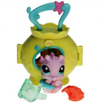 Littlest Pet Shop - Pets on the Go 93395 - Seahorse 1352