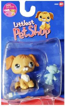 Littlest Pet Shop - Singles - 0368 Retriever