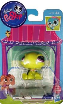 Littlest Pet Shop - Singles - 3579 Olive Shellstein Pet Turtle