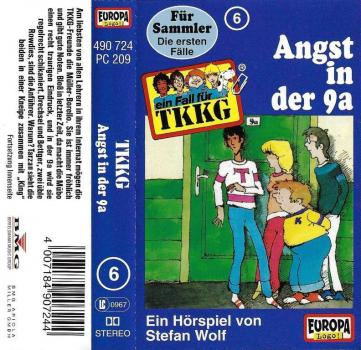 MC - TKKG 006 - Angst in der 9a