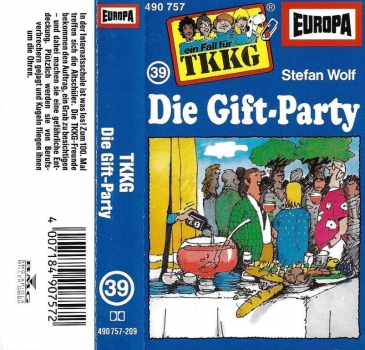 MC - TKKG 039 - Die Gift-Party