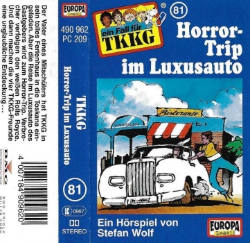 MC - TKKG 081 - Horror-Trip im Luxusauto