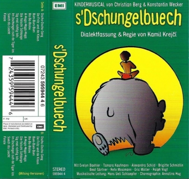 MC - s'Dschungelbuech - Kindermusical