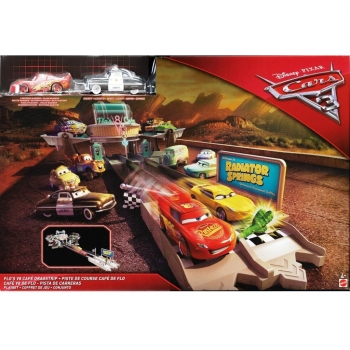 Mattel Disney Cars FCV35 - Flo's V8 Cafe Dragstrip