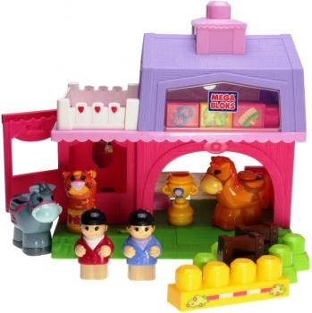 Mega Bloks 93572 - Block Buddies - My Pony Stable