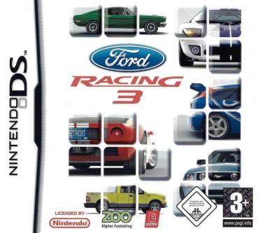 Nintendo DS - Ford Racing 3