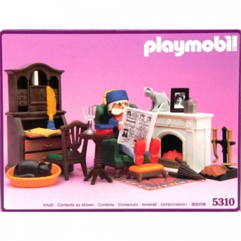 Playmobil - 5310 Victorian Mansion Grandpa's Den Fireplace