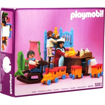 Playmobil 5311 kinderzimmer decotoys for Kinderzimmer playmobil