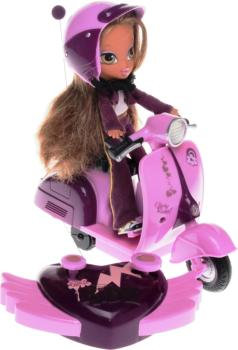 MGA Entertainment 338376E5 - Bratz Kidz Doll & RC Scooter