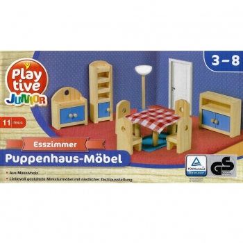 Playtive Junior - Puppenhaus-Möbel Esszimmer