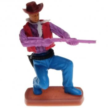 Plasty - Cowboy kneeling with Rifle