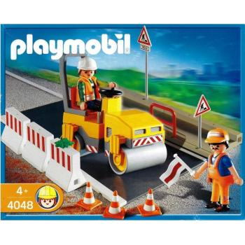Playmobil - 4048 Steamroller