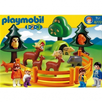 Playmobil - 6772 Forest Animal Park