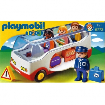 Playmobil - 6773 Airport Shuttle Bus
