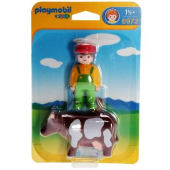 Playmobil - 6972 Farmer with cow