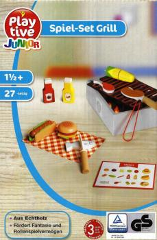 Food - Wood food grill set