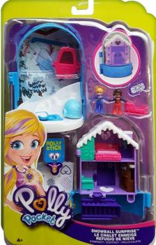 Polly Pocket 2018 - (FRY37) Snowball Surprise  Compact