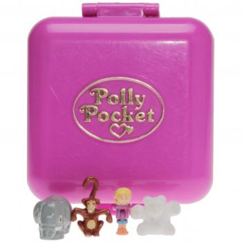Polly Pocket Mini - 1989 - Wild Zoo World