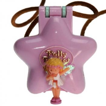Polly Pocket Mini - 1992 - Fairy Garden Locket