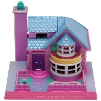 Polly Pocket Mini - 1993 - Pollyville - Bay Window House Bluebird Toys 940291