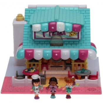 Polly Pocket Mini - 1993 - Pollyville - Pizzeria Bluebird Toys 940311