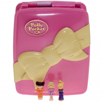 Polly Pocket Mini - 1994 - Star Bright Dinner Party - Bluebird 950911