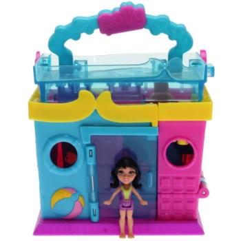 Polly Pocket Pollyville Y6084 - Schwimmbad Spielset